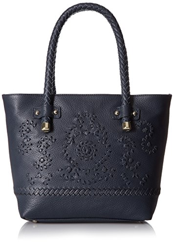 Jack Rogers Mara Tote Shoulder Bag, Midnight, One - Tassel Domed