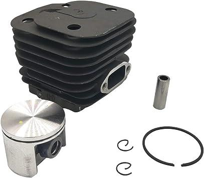 Cancanle 48mm Zylinder Kolben Kit Passt Husqvarna 61 Kettensäge Baumarkt