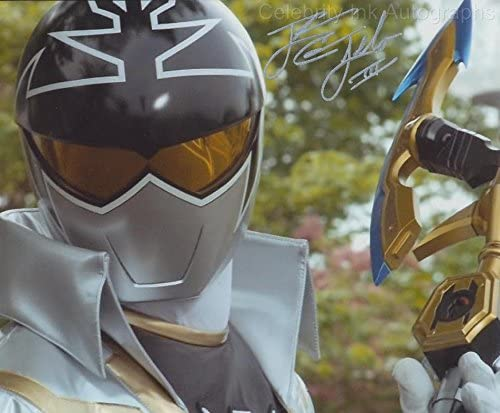 cameron jebo as orion the silver super megaforce ranger mighty morphin power rangers genuine autograph at amazon s entertainment collectibles store cameron jebo as orion the silver super megaforce ranger mighty morphin power rangers genuine autograph