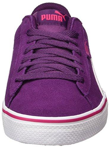 Puma Unisex-Kinder 1948 Vulc Jr Sneaker Violett (Dark Purple-White)