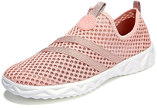Dreamcity Womens Breathable Mesh Water Shoes Walking Sneakers