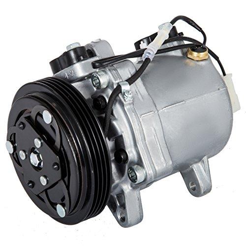 (Mophorn 58407 Universal Air Conditioner AC Compressor CO 10620C 99000990887CH 1999-2005 for Grand Vitara Esteem 14155434 95-05 1.6L 2.0L 2.5L)