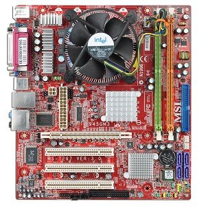 Amazon.com: MSI MS-7267 Intel 945G Socket 775 micro-ATX ...