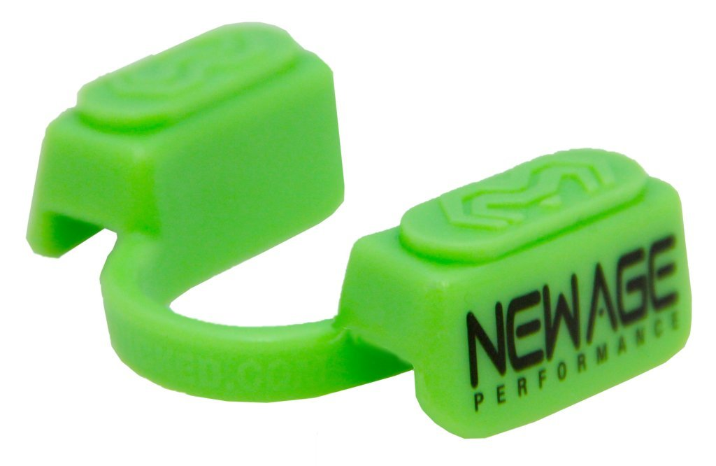 New Age Performance 5DS Sports And Fitness Cardio-Based Activities Mouthpiece - Lower Jaw - No-Contact - Green