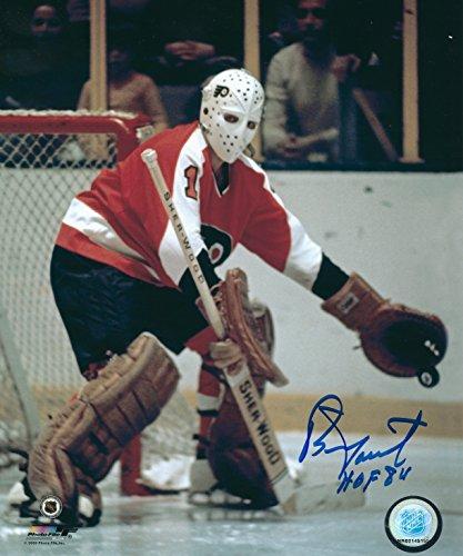 - Autographed Bernie Parent Philadelphia Flyers 8x10 Photo with COA