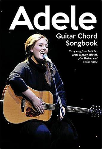 Amazon Hal Leonard Adele Guitar Chord Songbook 0884088676230