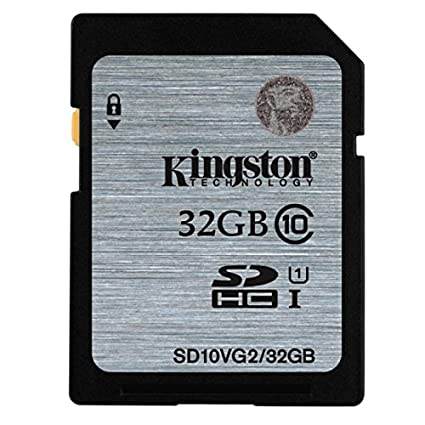 Kingston 32 GB tarjeta de memoria SD SDHC Clase 10 para ...