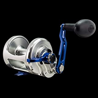 product image for Accurate Boss BX-600XW Single Speed Reel - Silver/Blue - Right Handed