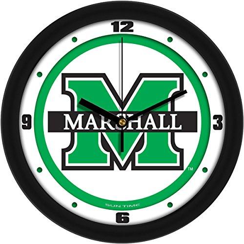 - SunTime NCAA Marshall University Thundering Herd Traditional Wall Clock