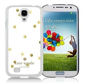 NEW DIY Customized Kate Spade Samsung Galaxy S4 I9500 White Phone Case 014