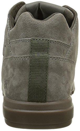 Chenille Prevue Bottes En Cuir Suede / Sneakers Gris