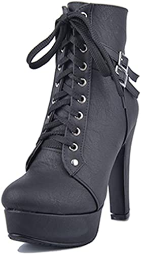 High Heels Boots Fashion Lady Lace