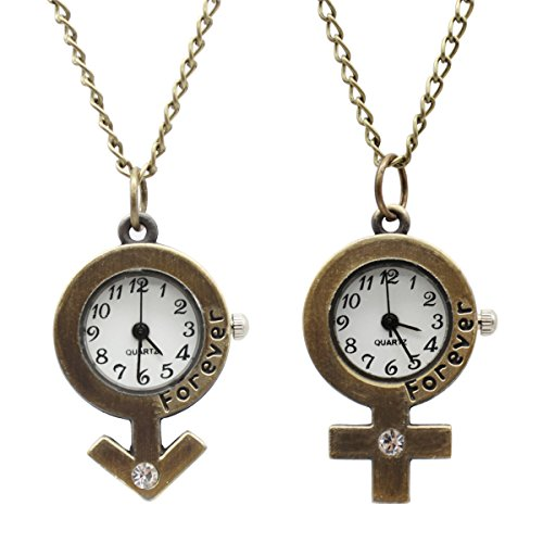 LightOnIt Vintage Cute Flying Owl Pocket Watch Pendant Necklace for Boys Girls Kids Gift (boys & girls) from LightOnIt