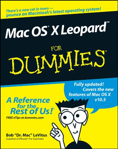 Mac OS X Leopard For Dummies Pdf