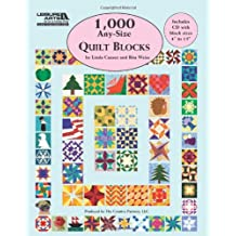 1000 Any-Size Quilt Blocks