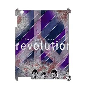 C-EUR The Beatles Pattern 3D Case for iPad 2,3,4