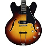 Gibson Memphis ES3018SBNH1 ES-330 Semi Hollow Body Electric Guitars Sunset Burst