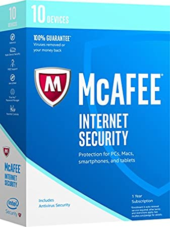 McAfee McAfee 2017 Internet Security - 10 Devices