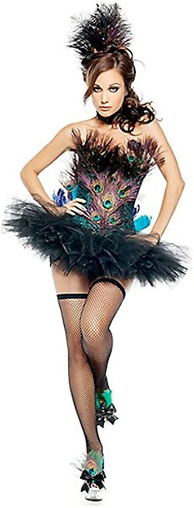 Sexy Disfraz de Pavo Real Elite de la Mujer: Amazon.es: Ropa y ...