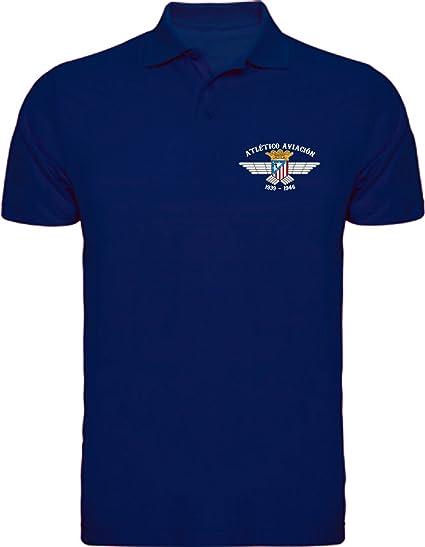 Desconocido Polo Atlético De Aviación Camisetas del Atleti ATM ...