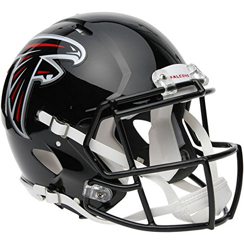 Atlanta Falcons Officially Licensed Speed Authentic Football Helmet by Riddell
