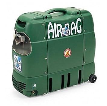 Compresor de aire Airbag 1,5 Fiac portátil HP silenziato 69 db, motor monofásico: Amazon.es: Deportes y aire libre