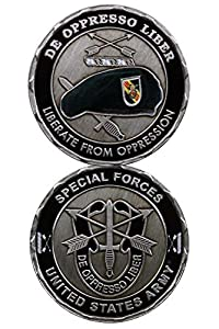 U.S. ARMY SPECIAL FORCES Challenge Coin-Eagle Crest 2283 by Eagle Crest from Eagle Crest