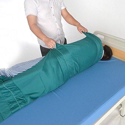 LUCKYYAN Healthcare H-025-01 Cotton Multi-Mover Plus Transfer / Slide Sheet - GREEN by luckyyan