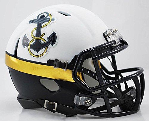 Riddell NCAA Navy Midshipmen 2012 Throwback Special Speed Mini Football Helmet