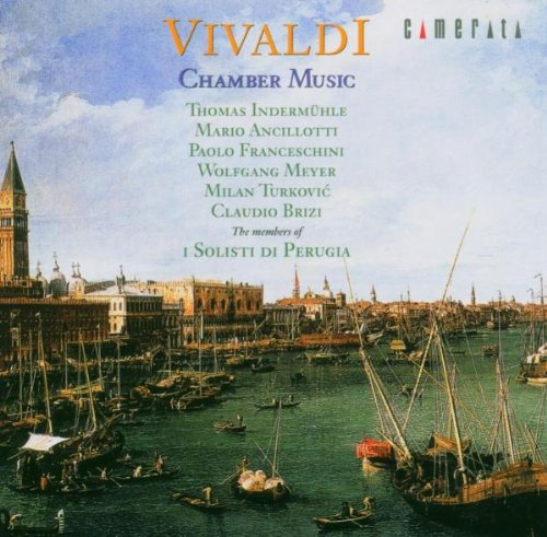 Vivaldi 'Chamber Music': Concerti For Flute Oboe Violin Bassoon And Basso Continuo Rv 107