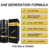 FEBRON Hair Fibers For Thinning Hair BLACK Giant
