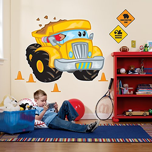 Construction Pals Giant Wall Decals -