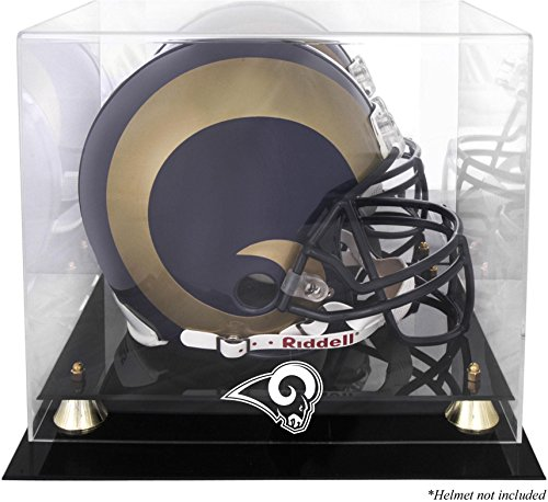 Mounted Memories St. Louis Rams Helmet Display -