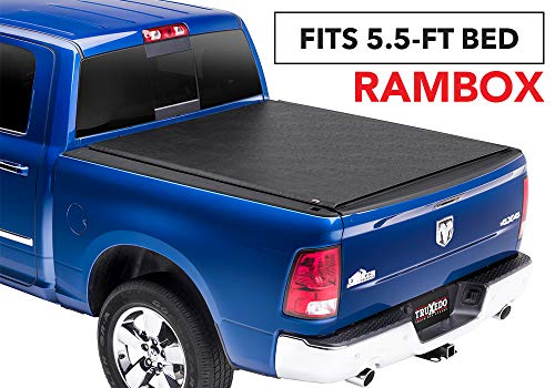 - TruXedo Lo Pro Soft Roll-up Truck Bed Tonneau Cover | 544901 | fits 09-18 Ram 1500 w/RamBox 5'7