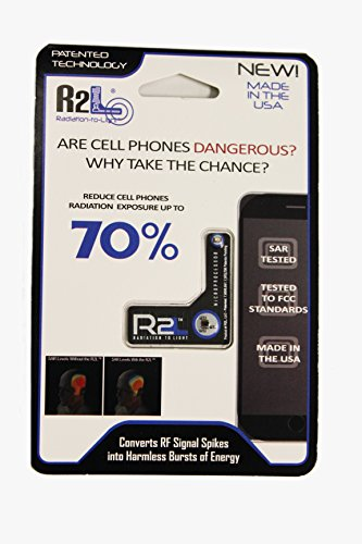 R2L Anti Radiation Chip For Cell Phones - Reduces Radiation by 70 Percent - EMF Protection