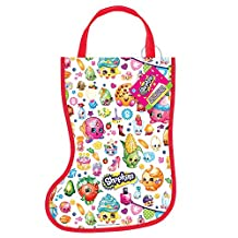 Plastic Shopkins Christmas Stocking Favor Bag