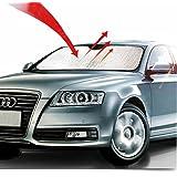 Big Ant Car Windshield Sunshade UV Ray Reflector Auto Window Sun Shade Visor Shield Cover, Keeps Vehicle Cool- Sliver (55