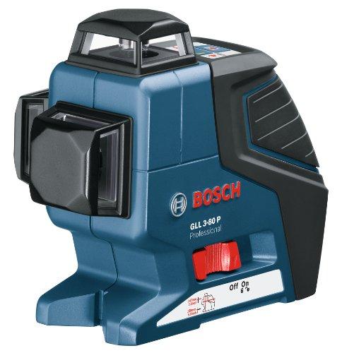 ボッシュ 360°高精度フルラインレーザー GLL3-80P