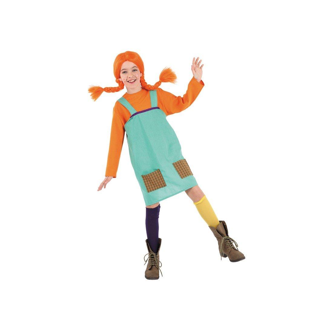 Disfraces FCR - Disfraz pipi calzaslargas niña talla 10 años: Amazon.es: Ropa y accesorios