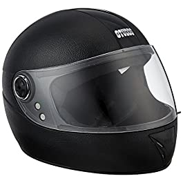 Studds Chrome Elite SUS_CEFFH_BLK Full Face Helmet (Black, XS)