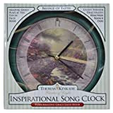 Mark Feldstein Bridge of Faith Kinkade 8 inch Clock