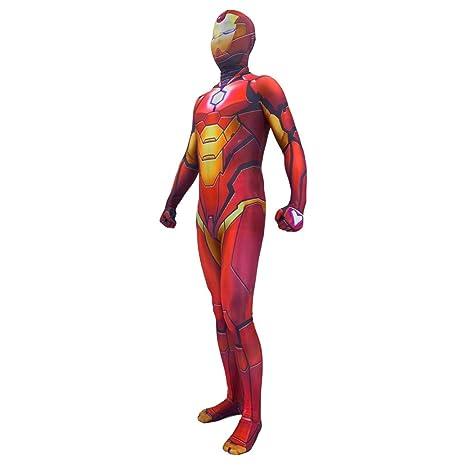 NDHSH Avengers Iron Man Cosplay Disfraz de Halloween Niño ...