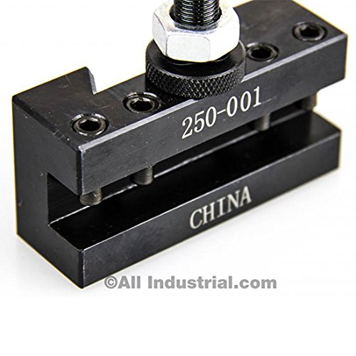 OXA TOOL POST SET 6-9'' SWING MINI QUICK CHANGE CNC LATHE HOLDER 0XA WEDGE by All Industrial