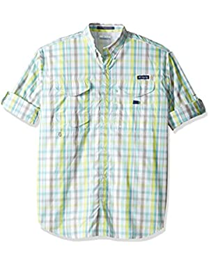 Men's Big Super Bonehead Classic Long Sleeve Shirt, Moxie Multi Gingham, Large/Tall