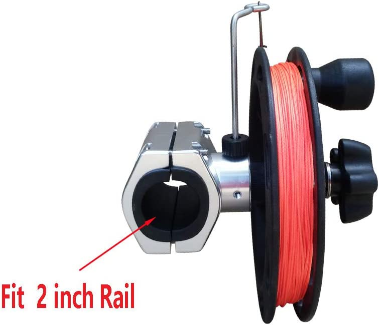 Brocraft Manual Planer Reel/Rail Mount Reel/Teaser Reel/Planer Downrigger