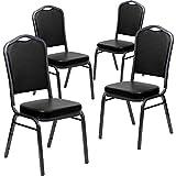 Flash Furniture 4 Pk. HERCULES Series Crown Back
