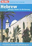 Hebrew Phrase Book and Dictionary, Berlitz, 9812684824