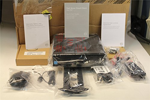 Dell Wyse G9MYN 7010 Mini Desktop, 4 GB RAM, 16 GB Flash, AMD Radeon HD 6320, Black