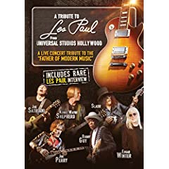 A Tribute To Les Paul: Live From Universal Studios Hollywood on DVD September 8 from MVD