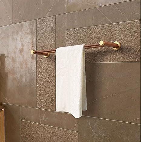 LVLIDAN Soporte Colgador de Toallas de baño rampa Toallero Estilo Europeo 50cm: Amazon.es: Hogar